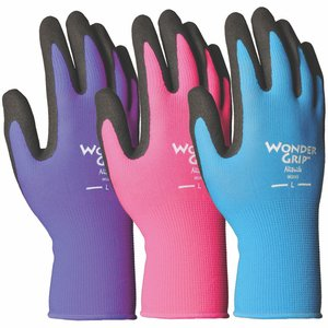 Outdoor Gardening Wonder Grip Nicely Nimble Nitrile Glove - Medium
