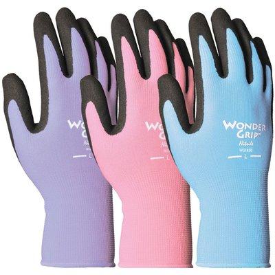 Wonder Grip Wonder Grip Nearly Naked Nitrile Palm Glove - Medium