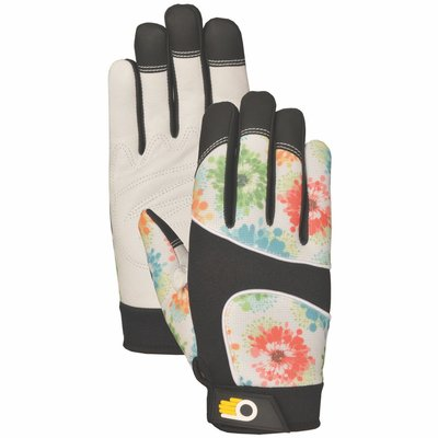 Outdoor Gardening Bellingham Women's Floral Performance Glove - Small