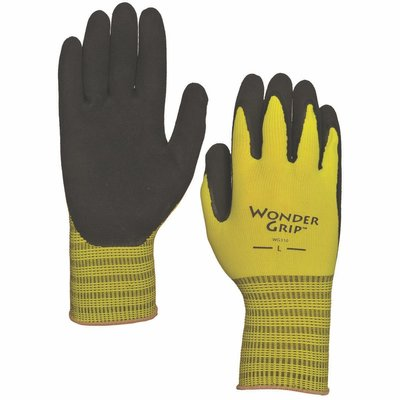 Outdoor Gardening Wonder Grip Extra Grip Latex Palm Glove - Large