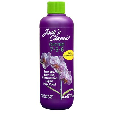 Home and Garden Jack's Classic Orchid Grow Fertilizer - 8 oz