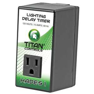 Indoor Gardening Titan Hades 1- Delay Timer