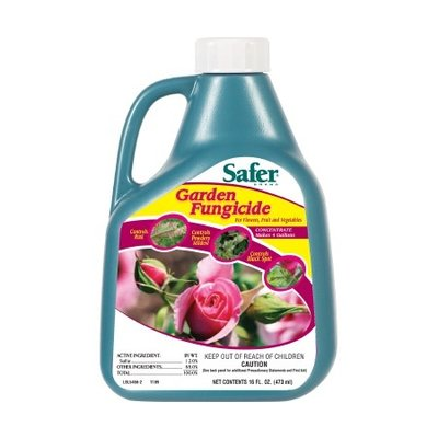 Pest and Disease Safer Garden Fungicide Concentrate - 16 oz