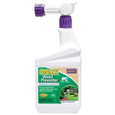 Pest and Disease Bonide: Maize Corn Gluten Weed Preventer RTS - Qt
