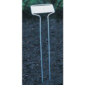 Outdoor Gardening Zinc Plant Markers - 10 inch
