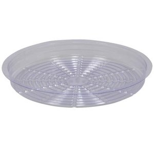 Curtis Wagner Clear Plastic Saucer - 8 inch