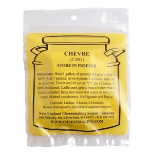 New England Cheesemaking Supply Chevre (DS) Culture - 5 Pack
