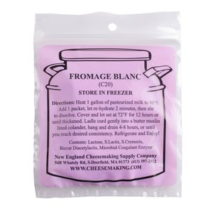 New England Cheesemaking Supply Fromage Blanc (DS) Culture - 5 Pack