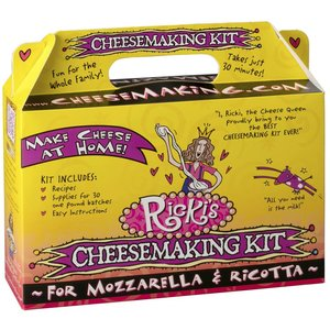 New England Cheesemaking Supply Mozzarella & Ricotta Kit