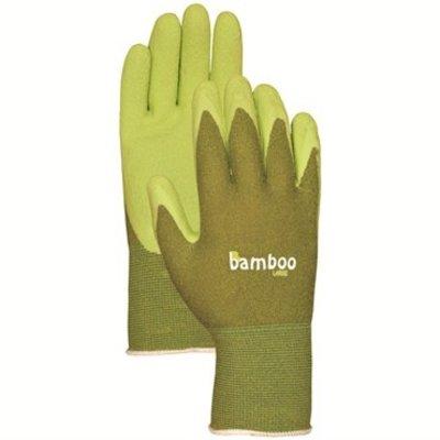 Outdoor Gardening Bamboo Rubber Gloves