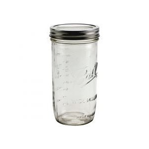 Urban DIY Ball Widemouth Jar-24 oz.; 9/case
