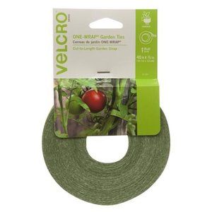 "Outdoor Gardening Green Velcro Plant Ties - 1/2"" x 45 ft"