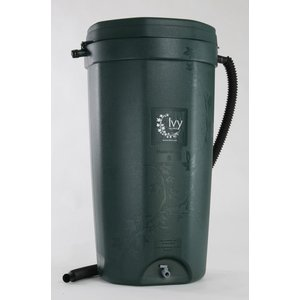 Outdoor Gardening Green Ivy Rain Barrel - 50 Gallon