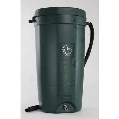 Rain Water Solutions Green Ivy Rain Barrel - 50 Gallon