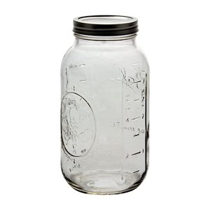 Urban DIY Ball Widemouth Jar-64 oz.; 6/case