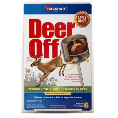 Pest and Disease Havahart Deer Off Repellent Pucks - 6/pk