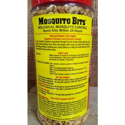Pest and Disease Mosquito Bits - 8 oz shaker