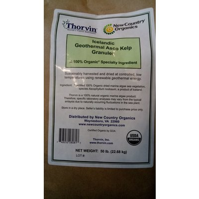 New Country Organics Thorvin Organic Kelp Meal - 50 lbs