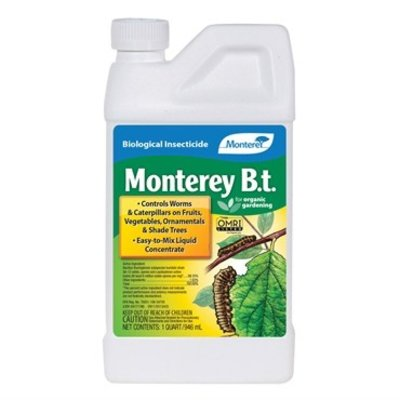 Pest and Disease Monterey Organic BT - Concentrate - 16 oz
