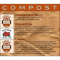McEnroe Organic Farm McEnroe Premium Organic Compost - 40lb