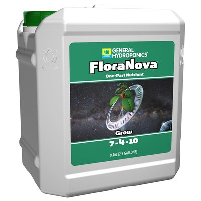 Indoor Gardening General Hydroponics FloraNova Grow