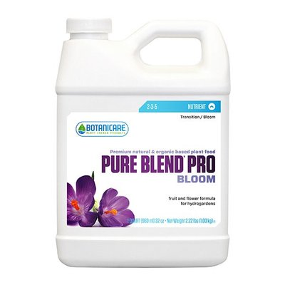 Indoor Gardening Botanicare Pure Blend Pro Bloom - Hydro