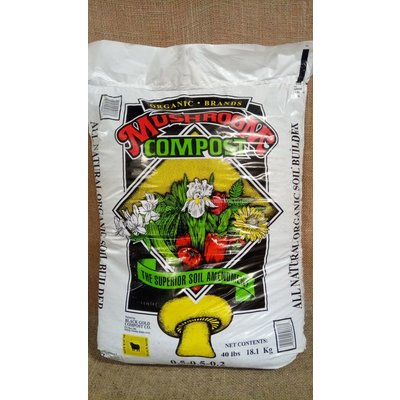 Black Kow Mushroom Compost - 40lb