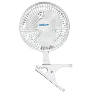 Indoor Gardening Hurricane 6 inch Clip Fan