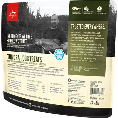 Urban DIY Orijen Freeze Dried Dog Treats - Tundra 3.25 oz