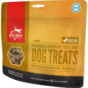 Urban DIY Orijen Freeze Dried Dog Treats - Duck 3.25 oz