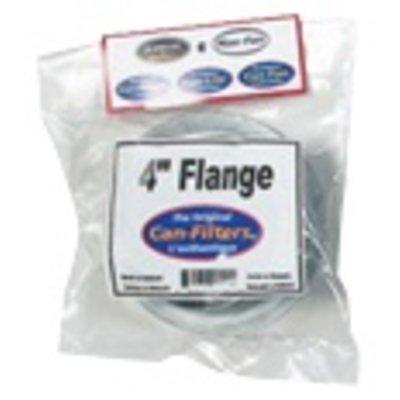 Indoor Gardening Plastic Can Flange - 4 inch (models 1500/2600/900)
