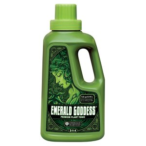 Indoor Gardening Emerald Harvest Emerald Goddess - 1 Quart