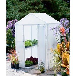Outdoor Gardening Solexx 4ft x 4ft Lit'l Propagator Greenhouse - 3.5mm (G-102)