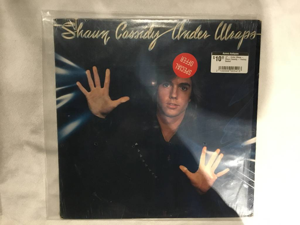 LP - Under Wraps - Shaun Cassidy - Factory Sealed