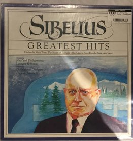 LP - Greatest Hits - Sibelius - Factory Sealed