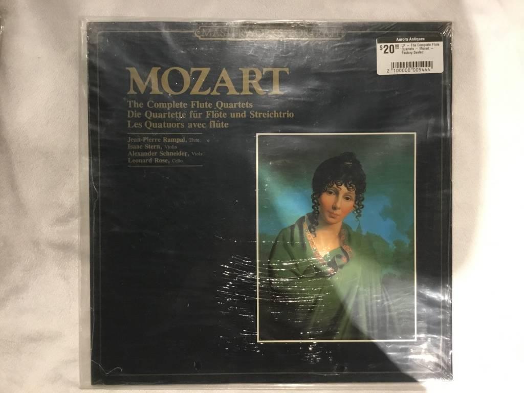 LP - The Complete Flute Quartets - Mozart - Factory Sealed