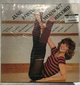 LP - Jane Fonda's Workout Record - Various Artists - Factory Sealed