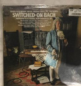 LP - Switched-On Bach - Trans-Electronic Orchestra - Factory Sealed