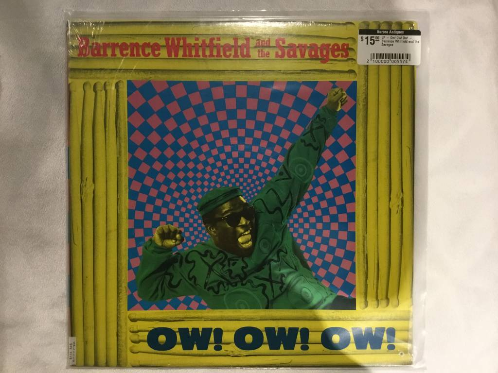 LP - Ow! Ow! Ow! - Barrence Whitfield and the Savages