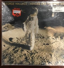 LP - Heroes Like You and Me - George Wallace - Factory Sealed