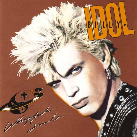 LP - Whiplash Smile - Billy Idol - Original Pressing