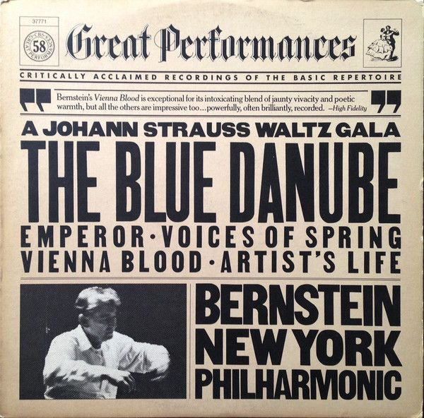 LP - The Blue Danube - Johann Strauss - Factory Sealed