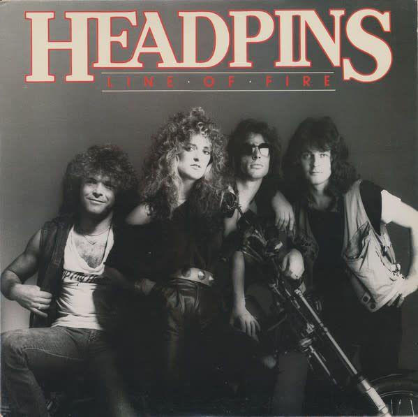 LP - Line of Fire - Headpins - Original Pressing