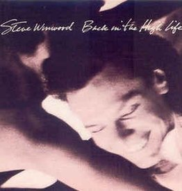 LP - Back in the High Life - Steve Winwood - Original Pressing
