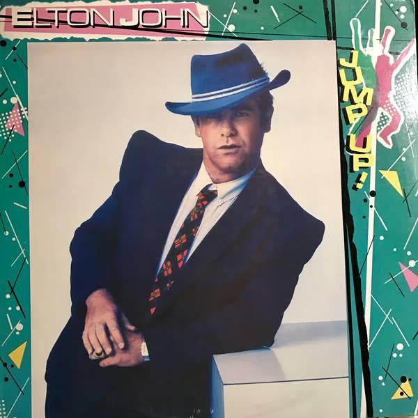 LP - Jump Up! - Elton John - Original Pressing