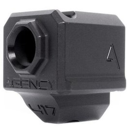 Agency Arms 417 Single Port Comp G3 Black
