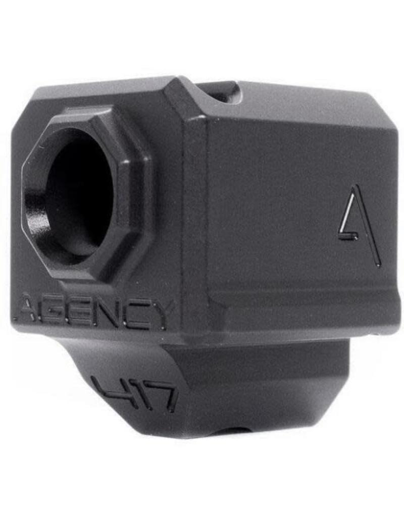 Agency Arms 417 Single Port Comp G3 Black