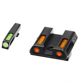 HiViz Tritium/Litepipe Glock 9/40 Green/Orange