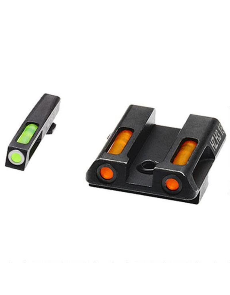 HiViz Tritium/Litepipe Glock 9/40 Green/Orange