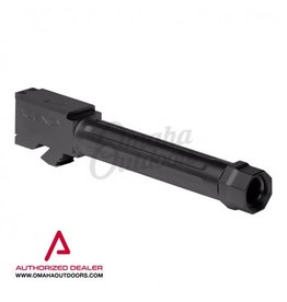 Agency Arms Mid Line Barrel Glock 19 Gen 3/4 9mm Straight Fluted Threaded Black